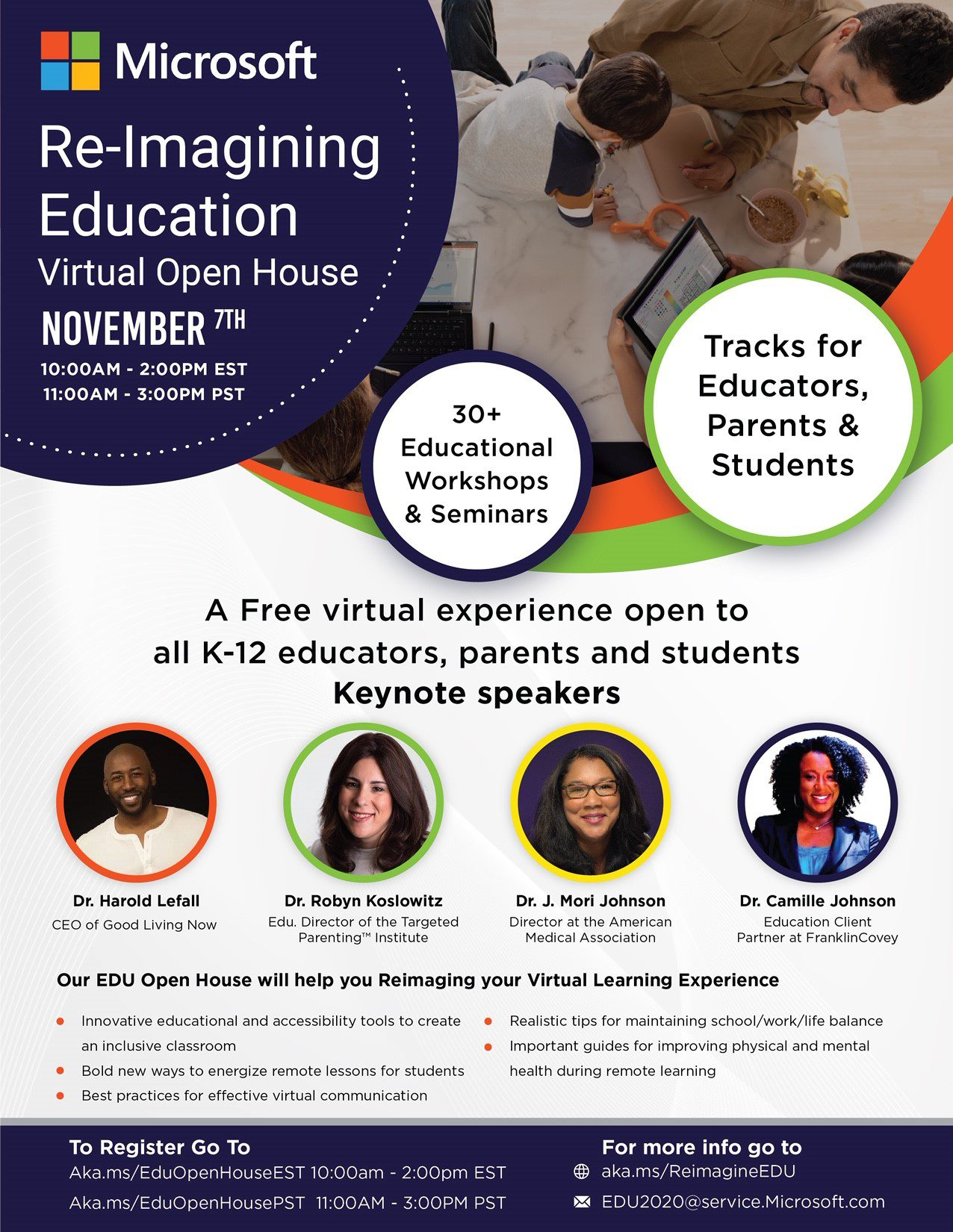 NABSE in partnership with Microsoft presents: Re-Imagining Education